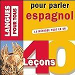 40 leçons pour parler espagnol | Pierre Gerboin,Jean Chapron