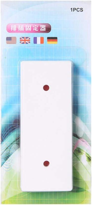 Magic Plug Holder Seamless Punch-free Plug Sticker Wall Fixer for Sockets CA