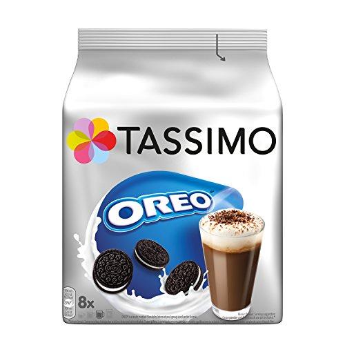 Tassimo Kapseln Oreo, 40 Kakao Kapseln, 5er Pack, 5 x 16 Getränke