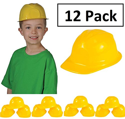 Bob The Builder Costume For Adults (Construction Hat Toy -12 Pack Yellow, For Kids, Boys, Girls, Halloween, Themed Events, Props, Costume, & Dress Up – Kidsco)