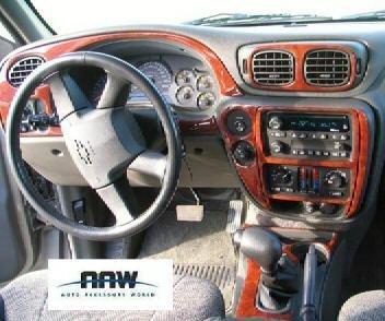 Amazon com: Chevrolet CHEVY TRAILBLAZER INTERIOR BURL WOOD DASH TRIM