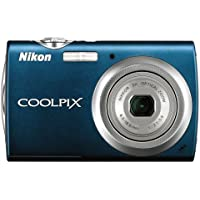 Nikon Coolpix S230 10MP Digital Camera with 3x Optical Zoom and 3 inch Touch Panel LCD (Night Blue) Key Pieces Review Image