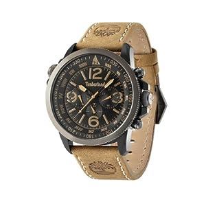 Timberland 13910JSBU.02 Mens Black Tan Campton Watch