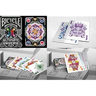Gamblers Warehouse Bicycle Ultimate Universe Colored Trick: Toys & Games