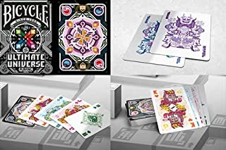 Giocco di carta Bicycle Ultimate Universe (nero) US Playing Card Company