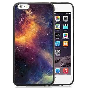 """Beautiful iPhone 6 Plus 5.5"""" TPU Cover Case ,Beautiful Colored Space Nebula Black iPhone 6 Plus 5.5"""" TPU Phone Case Unique And Durable Designed Screen Case"""