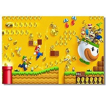 Amazon.com: Wall Decals Super Mario Bros 2 Poster Luigi ...