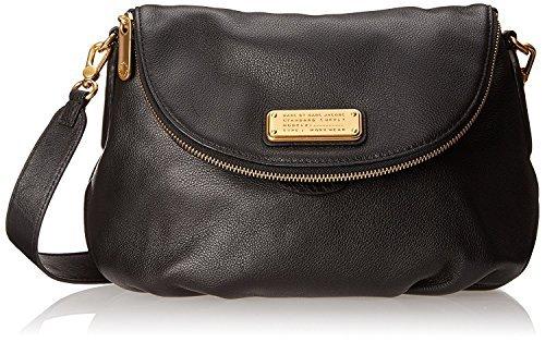 Marc by Marc Jacobs New Q Natasha Cross Body Bag, Black, One Size