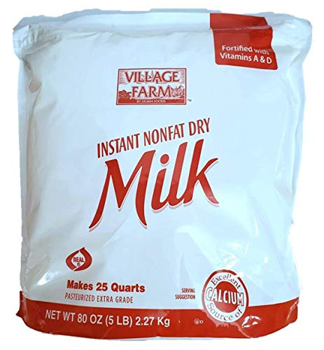 Village Farm Instant Nonfat Dry Milk, 5lbs.