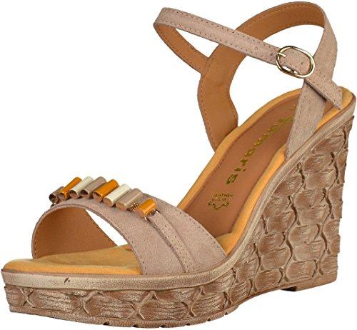 Tamaris 1-1-28348-28-341 - Sandalias de vestir para mujer 341TAUPE