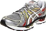 ASICS Men's GEL-Nimbus 13 Running Shoe,Lightning/White/Fire,8 (2E) US