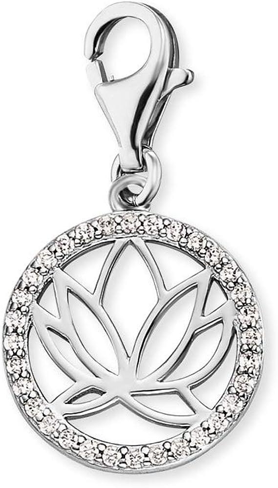 Engelsrufer - Colgante de plata de ley con piedras preciosas