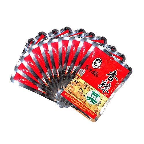 - LAO GAN MA Laoganma Spicy Dishes Taohuabi Bibimbap Sauce Mustard Food Spicy Sauce Chili Sauce Guizhou Specialty Snacks老干妈香辣菜 陶华碧拌饭酱榨菜下饭菜辣酱辣椒酱贵州特产 小吃