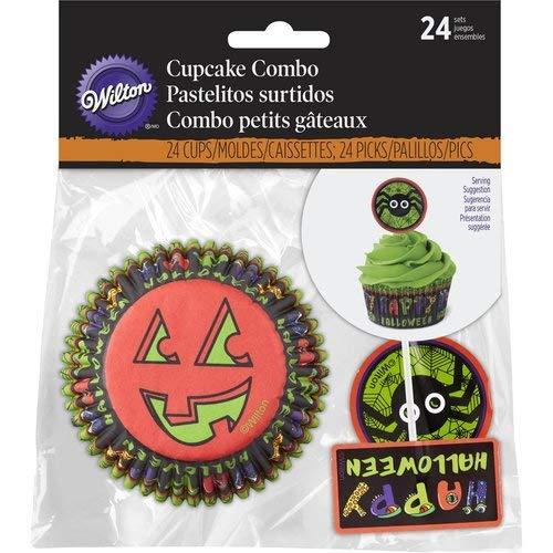 Wilton Spider Halloween Cupcake Decorating