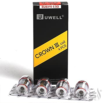 uwell crown 3 mesh coils