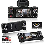 Indigi F600rr Stealth Car Dashboard Camera - Mini Dash Cam Full 1080P HD
