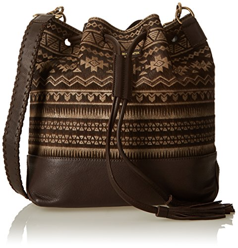 Unique Brown Marron porté Antik Hairon Batik Taille Sac épaule nZgg8Twq