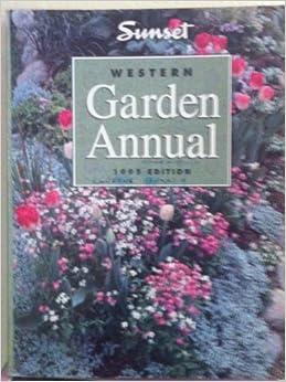 Book Western Garden Annual: 1995 Edition