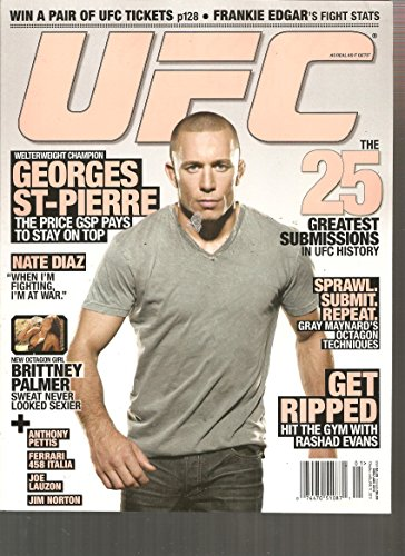 UFC Magazine (The 25 greatest submissions in UFC History, December 2010 January 2011)