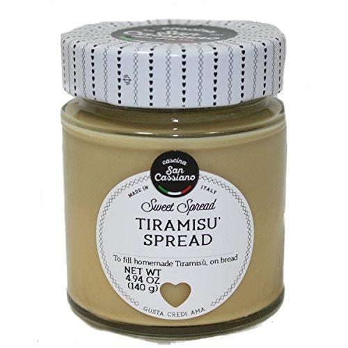 San Cassiano Parmigiano Reggiano Cream with Truffle | Bell Pepper Pecorino Cheese Sauce | Tiramisu Spread BUNDLE 3 jars