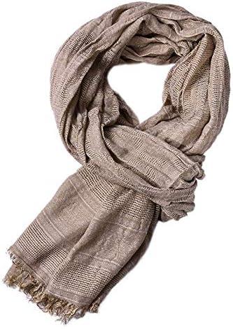 SSRS Bufanda de algodón para hombres, otoño de los hombres bufanda ...