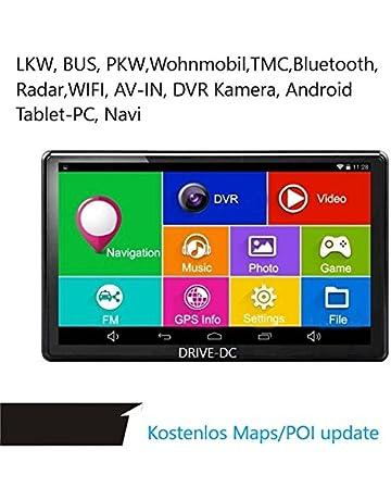 7 Pulgadas GPS Navi y Tablet con DVR Cámara para camiones, coches, Front,