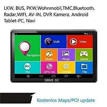 7 Pulgadas GPS Navi y Tablet con DVR Cámara para camiones ...