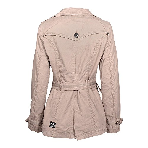 Khujo Dakota MujeresTrenchcoat Du- Nude