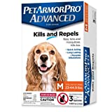 Pet Armor Pro Advanced Flea, Tick, Lice & Mite Treatment Drops for Medium Sized Dogs (23 - 44.9 Lbs)