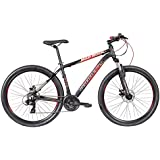 Montra 26-inch 21 Speed Aluminium Alloy Dual Disc Brake Sporty Bicycle (Black and Orange)