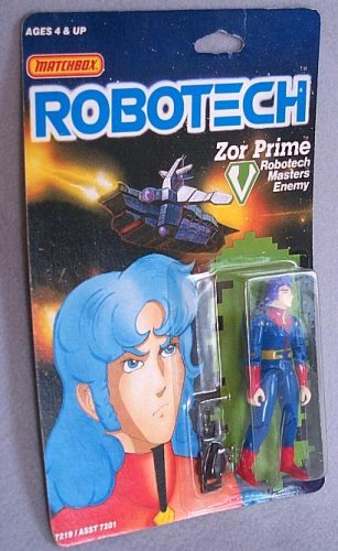Robotech Zor Prime - Robotech Masters Enemy - 3-3/4 Inch Action Figure
