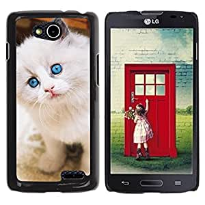 Vortex Accessory Hard Protective Case Skin Cover For Lg Optimus L90 / D415 - Ragdoll American Curl Longhair Angora