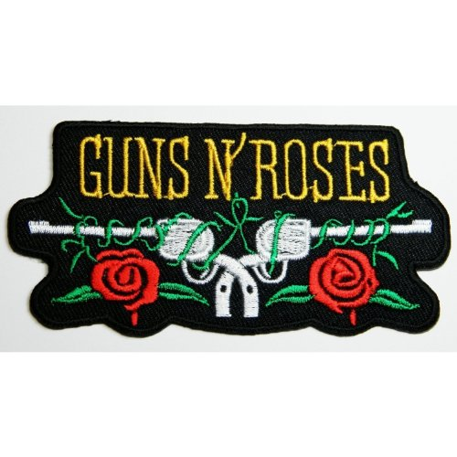 Guns N Roses patches 10x5 cm Iron on Patch / Embroidered Patch This Appliques Are Great for T-shirt, Hat, Jean ,Jacket, Backpacks. ()