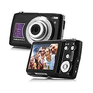 PowerDoF CDOE3 18MP HD Anti-shake Digital Video Camera -Black