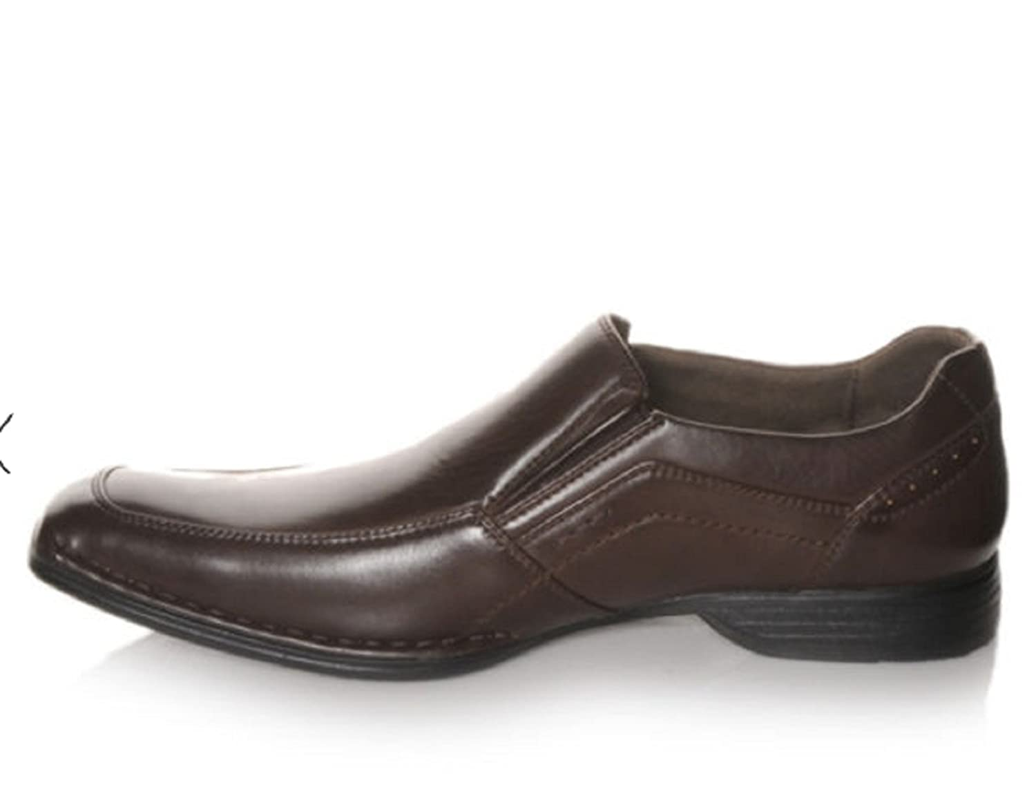Amazoncom  Madden Shoes Madden MSly Mens Dress Dark Brown  Loafers   SlipOns
