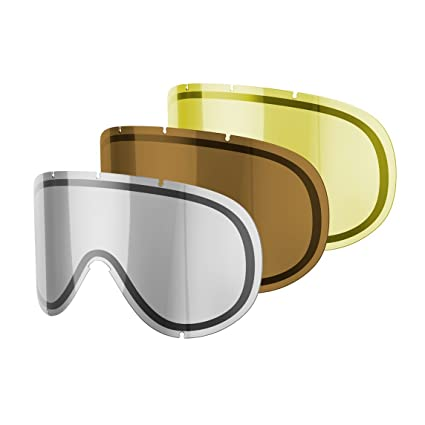 2841f9f4866 Amazon.com   POC Retina Comp Lens for Skiing Goggles (3 Pack)