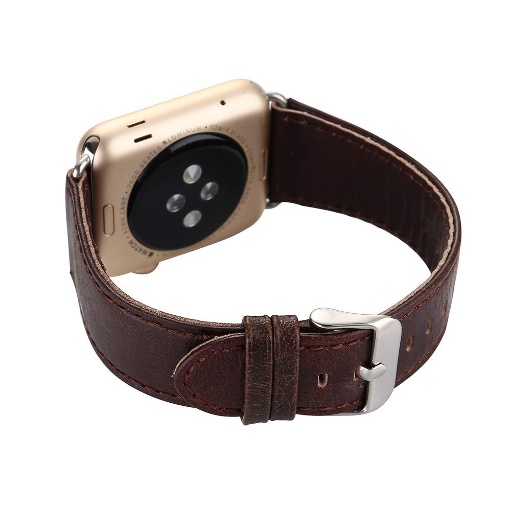 Bestow Reloj Bandas Correa para Reloj Apple Reloj 38mm Hebilla De ...