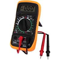 Baosity Digital Multimeter AC DC Volt Ohm Amp Meter Voltage - Yellow