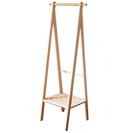 Amazon.com: Perchero de madera maciza para colgar en el ...