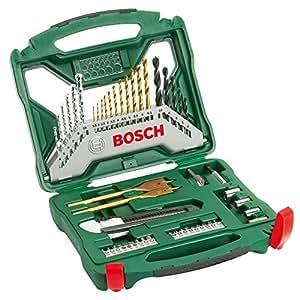 Bosch 50 Piece Titanium Drill Bit and Screwdriver Bit X-Line Set