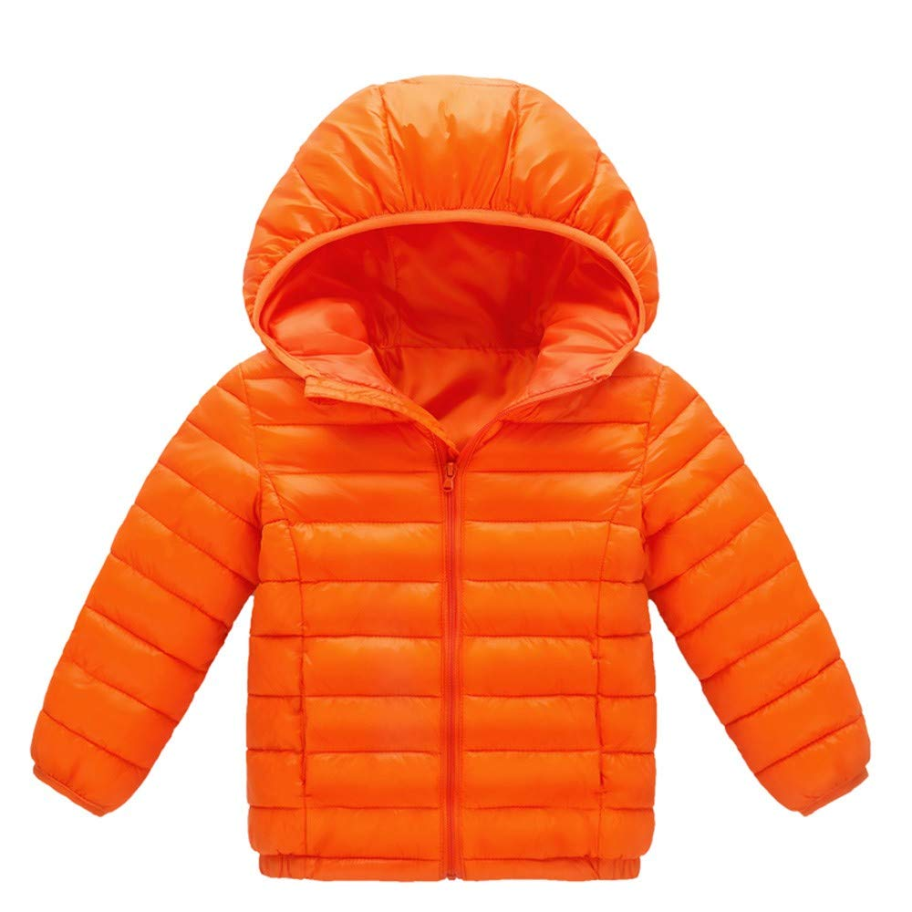 eaa1cd84706 Amazon.com: FORESTIME Toddler Baby Girls Boys Classic Bubble Jacket  Packable Down Coat Winter Warm Lightweight Thicken Puffer Down: Clothing