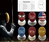 LEONARK Fencing Foil Mask CE 350N Certified