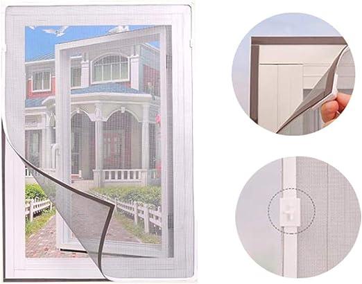 ANQI - Cortina de malla magnética para ventana de gatos, red de seguridad para gatos, mosquitera para ventana, mosquitera transparente, se puede cortar: Amazon.es: Productos para mascotas