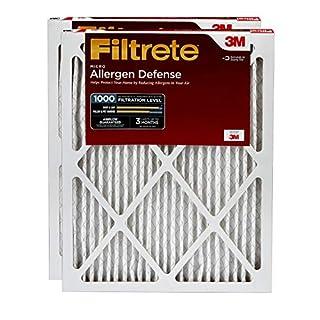 Filtrete AD01-2PK-6E MPR 1000 16 x 25 x 1 Micro Allergen Defense AC Furnace Air Filter, 2-Pack, 2 Count (B004Q6D02E) | Amazon price tracker / tracking, Amazon price history charts, Amazon price watches, Amazon price drop alerts