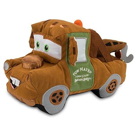 Cars Mater Plush (Disney Pixar Cars 2 Movie Exclusive 8 Inch Plush Tow Mater)