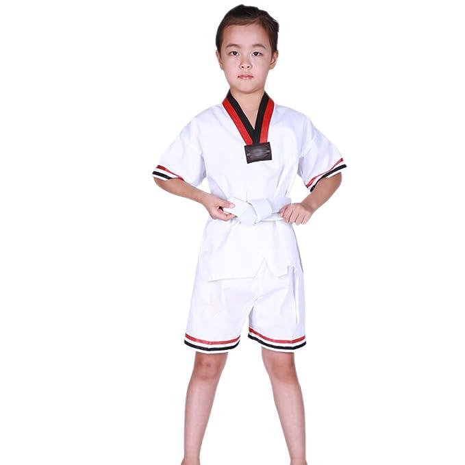 KINDOYO Traje de Taekwondo Artes Marciales Kung Fu Uniformes Ropa ...
