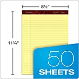 Ampad Gold Fiber Perforated Pad, Size 8-1/2 x