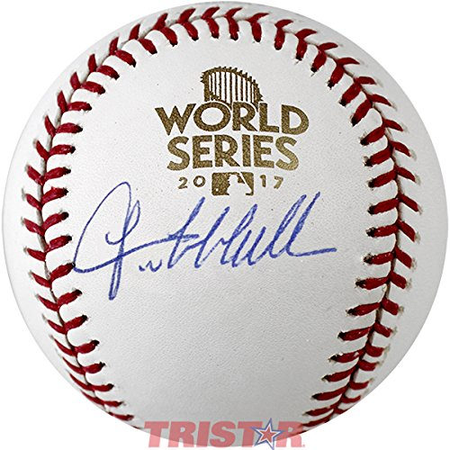 Lance McCullers Signed Autographed 2017 World Series Baseball TRISTAR COA TRISTAR Productions