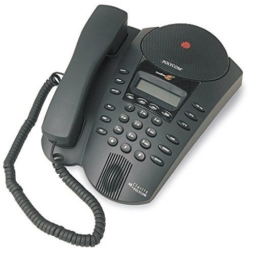 Polycom Soundpoint Pro SE-220 2-Line Conference Phone with Caller ID, Call waiting Mute, Speed Dial, LCD Display
