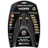 Monster Black Platinum Ultimate High Speed HDMI Cable with Ethernet - 9 ft.